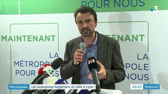Municipales : les écologistes en tête à Lyon