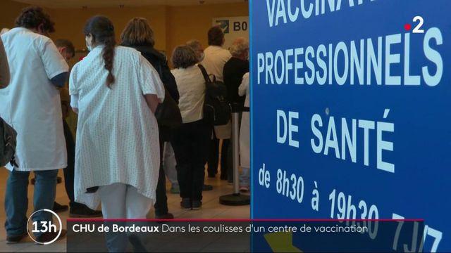 Gironde : dans les coulisses d'un centre de vaccination contre le Covid-19