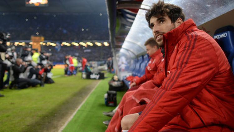 Le joueur du Bayern, Javi Martinez