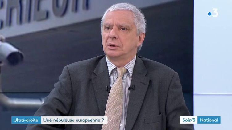 Jean-Yves Camus, spécialiste des nationalismes (France 3)