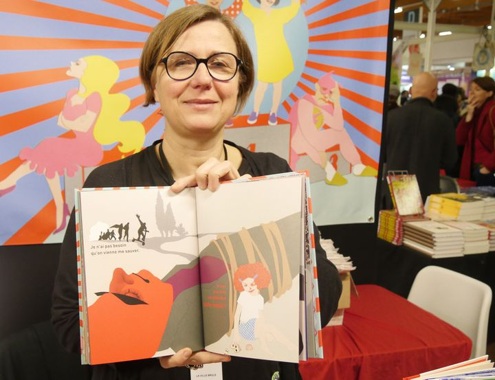 """Mariane Zuzula, éditrice de """"Ni poupées, ni super-héros"""" (La maison brûle)  (Laurence Houot / Culturebox)"""