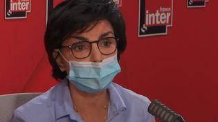 Rachida Dati, sur France Inter, le 21 juin 2021. (FRANCE INTER / RADIO FRANCE)
