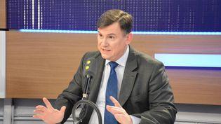 Bruno Beschizza,maire d'Aulnay-sous-Bois, secrétaire national à la Sécurité LR. (RADIO FRANCE / JEAN-CHRISTOPHE BOURDILLAT)