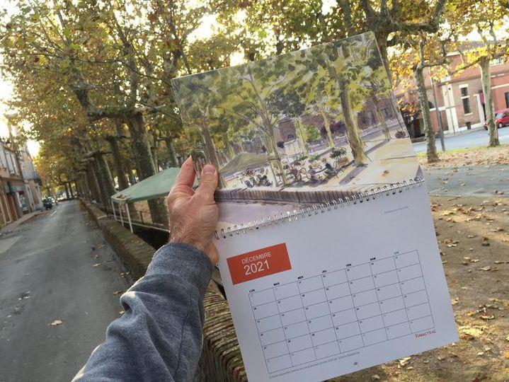 Le calendrier 2021 par Vincent Desplanche (Boraldes)