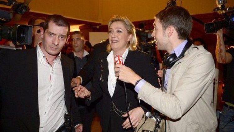 Marine Le Pen (PHILIPPE DESMAZES / AFP)