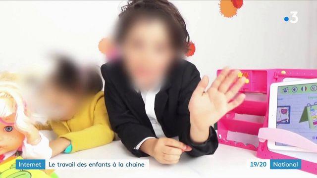 Internet : le travail des enfants à la chaine