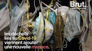 VIDEO. Partout dans le monde, masques et gants génèrent une nouvelle pollution plastique (BRUT)