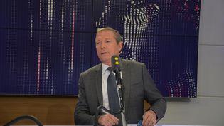 Jean-Michel Fauvergue, député LREM de Seine-et-Marne, ex-patron du RAID. (RADIO FRANCE / JEAN-CHRISTOPHE BOURDILLAT)