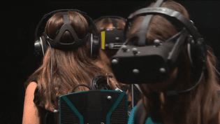 La danse en réalité virtuelle  (France 3 Culturebox - capture d'écran)