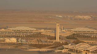L'aéroport de Riyad (Arabie saoudite), le 14 avril 2008. (EYEPRESS NEWS / AFP)