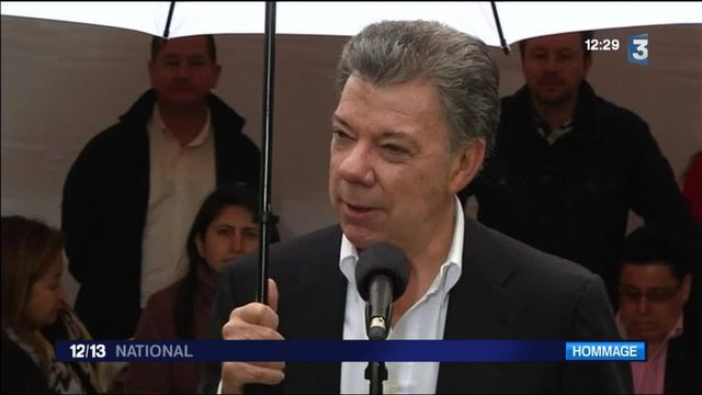 Le Nobel de la paix attribué au président colombien Juan Manuel Santos