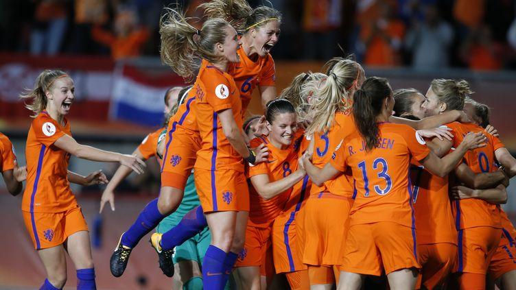 La joie des Néerlandaises  (YE PINGFAN / XINHUA)