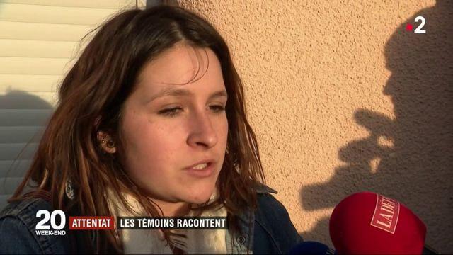 Attentat dans l'Aude : les témoins racontent