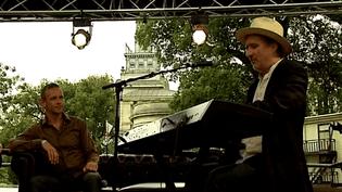 Jon Cleary fait résonner le son de La Nouvelle Orléans à Cognac, Juillet 2014  (Culturebox)