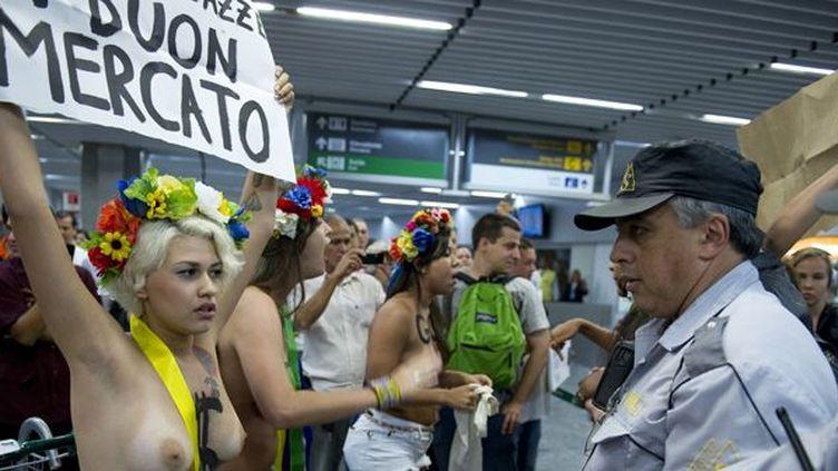 Les Femen à Rio, Brésil, février 2013  (Vanderlei Almeida)