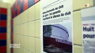 Silence dans les vestiaires (ENVOYÉ SPÉCIAL  / FRANCE 2)