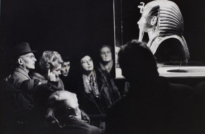 Exposition Toutânkhamon, Paris 1967 (© Jean Marquis, BHVP, Roger-Viollet)