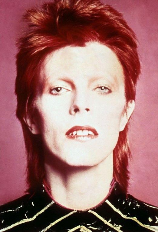 Ziggy Stardust alias David Bowie. 1973. Collection Christophe L  (Mainman )