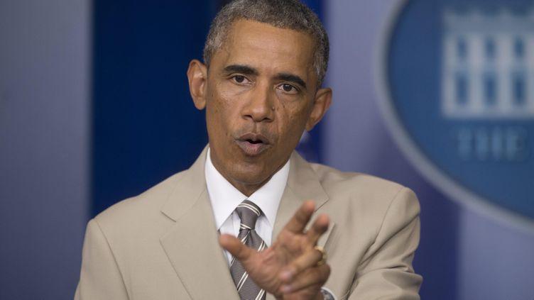 (Barack Obama a coupé court, vendredi soir, aux spéculations sur des frappes aériennes imminentes en Syrie. © MaxPPP)