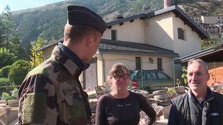 Alpes-Maritimes : retrouvailles avec leur sauveur (CAPTURE D'ÉCRAN FRANCE 3)