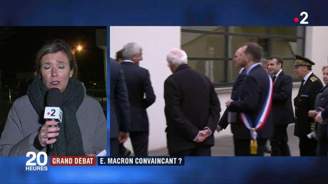 Grand débat : Emmanuel Macron a-t-il été convaincant ?
