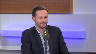 David Belliard, tête de liste EELV pour les municipales à Paris, invité de franceinfo le 28 janvier 2020. (FRANCEINFO / RADIOFRANCE)