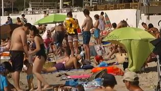 Une des plages de La Ciotat (Bouches-du-Rhône), où la cigarette a été interdite. (FRANCETV INFO / FRANCE 2)