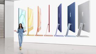 Le nouvel ordinateur de bureau de la marque à la pomme sera plus fin, plus puissant et plus coloré. (APPLE)