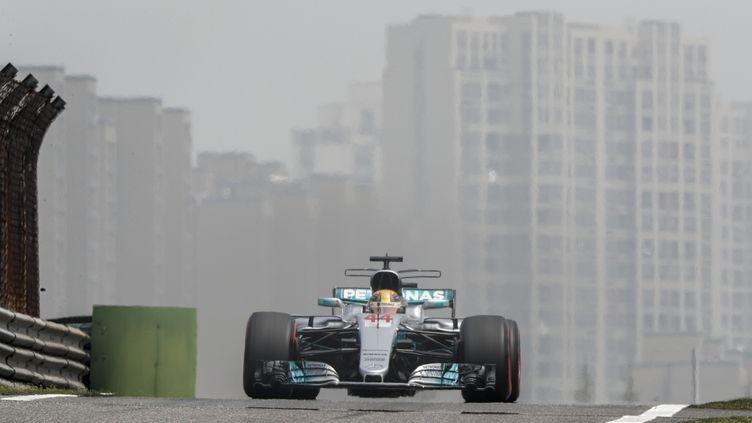 Le pilote britannique Lewis Hamilton (FREDERIC LE FLOC H / DPPI MEDIA)