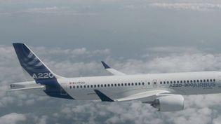 L'Airbus A220 effectuera son premier vol aux couleurs d'Air France à Roissy(Val-d'Oise). (CAPTURE ECRAN FRANCE 2)