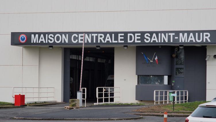 La maison centrale de Saint-Maur dans l'Indre où Jean-Claude Romand est détenu depuis sa condamnation à vie en 1996. (GUILLAUME SOUVANT / AFP)