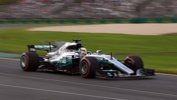 Lewis Hamilton (Mercedes)  (WILLIAM WEST / AFP)