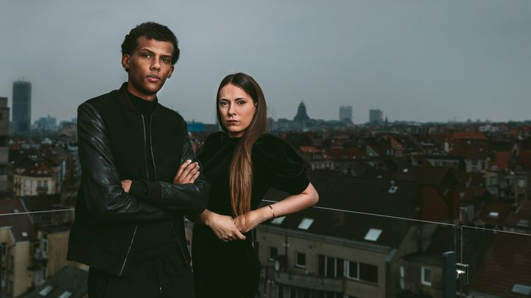 Mosaert team : Paul van Haver et Coralie Barbier  (Antoine Melis )