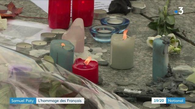 Samuel Paty : des hommages rendus un peu partout en France