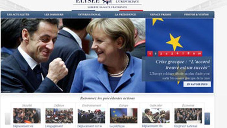 Le nouveau site de l'Elysée (elysee.fr)