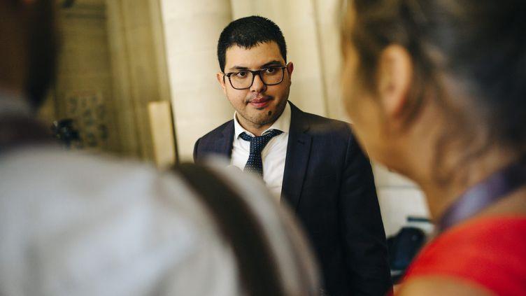 Sefen Guez Guez, avocat, le 25 août 2016. (ARNAUD DUMONTIER / MAXPPP)