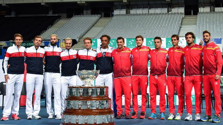 Madrid accueillera la nouvelle Coupe Davis en 2019 et 2020. (PHILIPPE HUGUEN / AFP)