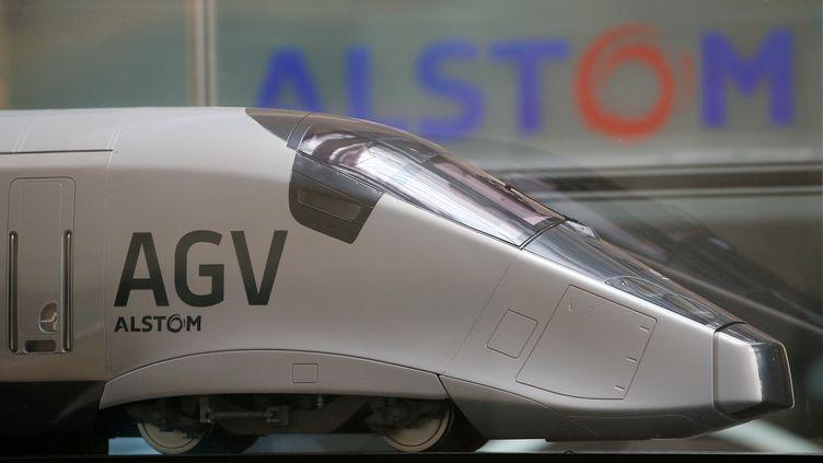 Le but pour Alstom et Siemens : changer d'échelle pour peser face à la concurrence mondiale, chinoise notamment. (GONZALO FUENTES / REUTERS)