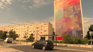 La colline Sainte Catherine vue par le street artist Nelio (France 3 Normandie)