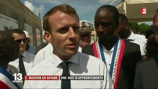 Guyane : malgré les tensions, Emmanuel Macron ne change pas son programme