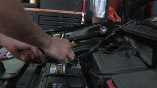 Automobile : les dangers des réparations clandestines. (FRANCE 2)