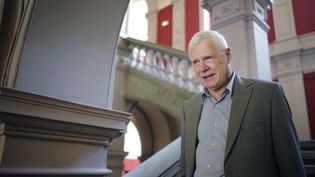 André Bamberski, le 23 mai 2014 à Mulhouse (Haut-Rhin). (SEBASTIEN BOZON / AFP)