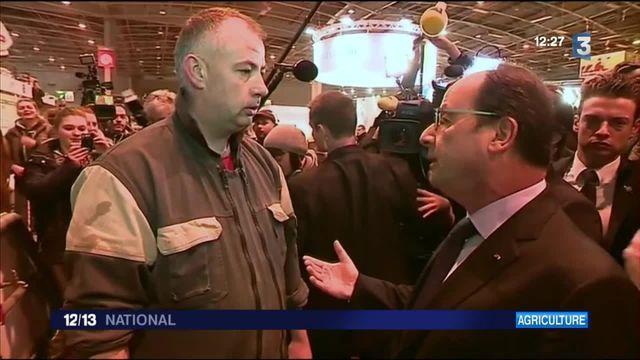Salon de l'agriculture : François Hollande sous les sifflets