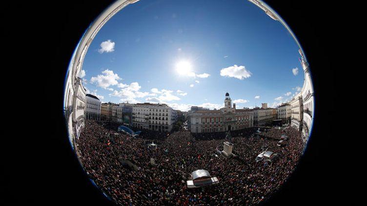 (Mobilisation massive des Espagnols contre l'austérité © REUTERS | Sergio Perez)