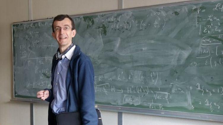 Josselin Garnier est mathématicien et actuellement professeur à l'Écolepolytechnique. Il est probabiliste et étudie les phénomènes aléatoires. (THERRESE GOODLETT)