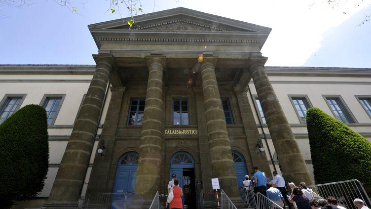 Le tribunal du Puy-en-Velay (Haute-Loire), le 17 juin 2013. (Photo d'illustration) (BRUNEL RICHARD / MAXPPP)