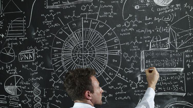 Un chercheur portugais a élaboré un algorithme qui permet de retrouver l'origine de certaines informations (qui n'a rien à voir avec ce qui est inscrit sur ce tableau). (MICHAEL BLANN / STONE SUB / GETTY IMAGES)