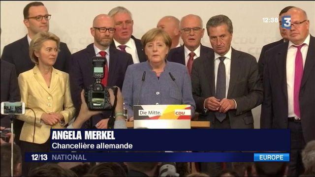 Élections allemandes : fragile victoire d'Angela Merkel