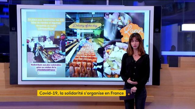 Coronavirus : la solidarité s'organise en France