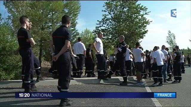 Pompiers : dans l'Hérault, ils dénoncent de mauvaises conditions de travail